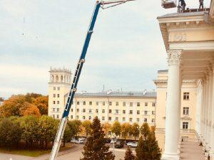В Смоленске на здании администрации появился еще один флаг