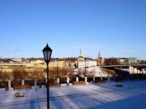 В Смоленске на набережной появится металлическая «Бабочка»