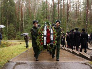 В Катыни перезахоронили останки жертв политических репрессий