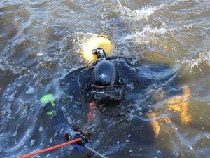 В Смоленской области в Днепре нашли тело мужчины