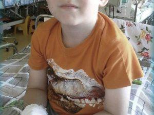 5-летнему смолянину срочно необходимы деньги на лечение