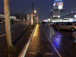 Руководство «Галактики» нарисовало тротуар для смолян