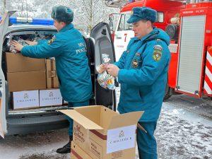 Смоляне отправили детям Донбасса новогодние подарки