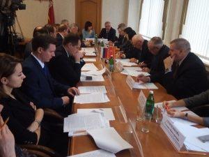 В Смоленске прошло очередное заседание Совета по проблемам инвалидов и граждан пожилого возраста