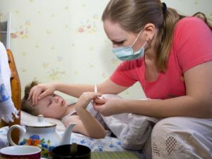 Среди смоленских детей распространяется эпидемия гриппа и ОРВИ