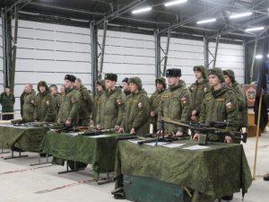 В Смоленске прошли ежегодные зимние спортивные военно-тактические игры «Лазертаг»