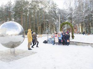В Смоленске торжественно открыли благоустроенный парк в Королевке