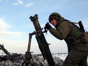 Смоленские артиллеристы отстрелялись под Воронежом