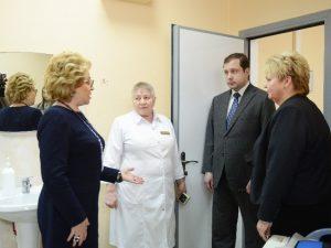 Спикер Совета Федерации Валентина Матвиенко посетила Смоленскую областную детскую клиническую больницу