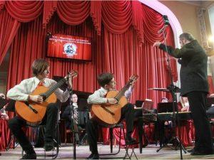Юные исполнители выступили на сцене областной филармонии