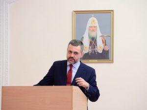 Владимир Легойда встретился со смоленскими студентами и духовенством