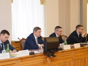 Мэр Соваренко рассказал губернатору Островскому о жилой застройке в Смоленске