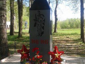 В смоленской деревне восстановили обелиск погибшим воинам