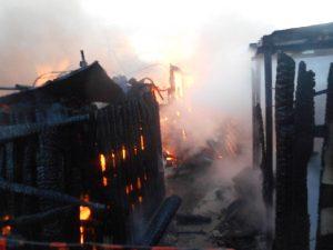 В Смоленске сгорели двое мужчин
