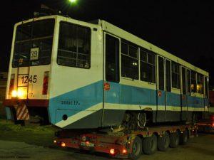С 1 августа в Смоленск начнут поступать московские трамваи