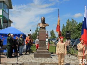 В Магалинщине открыли памятник Михаилу Барклаю-де-Толли