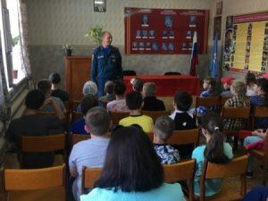 Рославльским школьникам рассказали, как провести летние каникулы безопасно