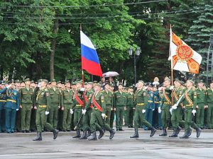 В Смоленске состоялся торжественный выпуск офицеров Военной академии ПВО