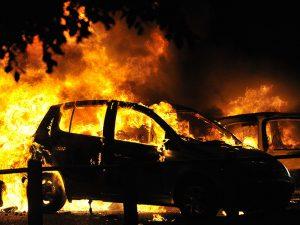 В Смоленском районе раскрыт поджог автомобиля