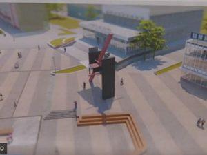 Сквер рядом с ЦУМом приведут в порядок по проекту выпускницы Смолгу