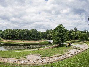Беседки и смотровая площадка появятся в парке 1100-летия Смоленска