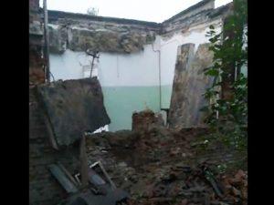 В Вязьме рухнуло аварийное здание