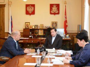 В Смоленске обсудили вопросы строительства нового тепличного комплекса