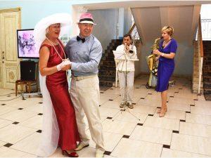 Супружеские пары в Смоленске отметили годовщины свадеб