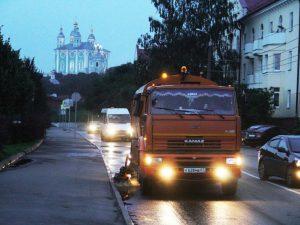«СпецАвто» принимает обращения смолян по уборке города