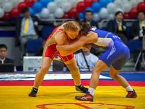 В Смоленске пройдет Чемпионат России по вольной борьбе среди женщин