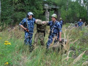 В Смоленской области тренировались ловить сбежавших осужденных