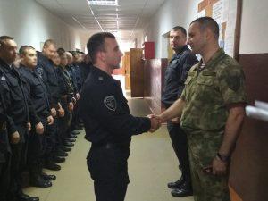 Сотрудники ОМОН Управления Росгвардии по Смоленской области отметили 26-летнюю годовщину образования отряда