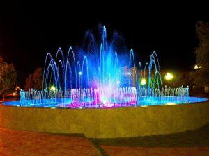 В Десногорске открыли музыкальный фонтан