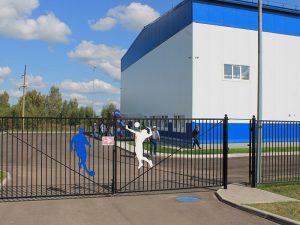 Под Смоленском открыли новый спортивно-оздоровительный комплекс