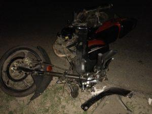 В Гагаринском районе мотоциклист сбил детей на скутере