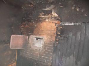 Под Смоленском вновь сгорела парилка общественной бани