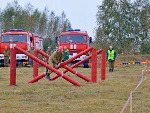 Смоленские лесные пожарные соревновались в профессиональном мастерстве