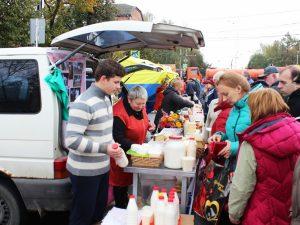 В Смоленске прошла ярмарка сельскохозяйственной продукции местных производителей
