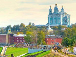 Смоленск участвует в рейтинге привлекательных городов России