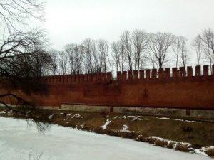 На реставрацию крепостной стены в Смоленске выделят 1,1 млрд рублей