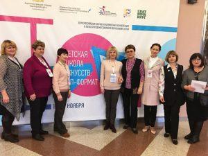 Смоленские учителя стали участниками Всероссийской научно-практической конференции «Детская школа искусств: ТОП – формат»