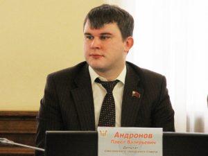 Павел Андронов: «В планах — общими усилиями сделать Смоленск лучше»