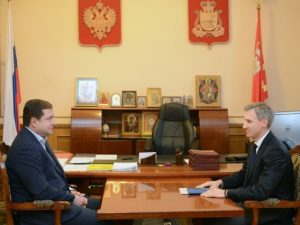 Василий Анохин покинул пост вице-губернатора Смоленской области