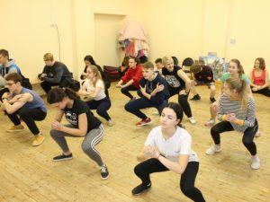 ОНФ провел акцию «Зарядка с чемпионом» в детском саду и школах Смоленска
