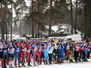 В Смоленске завершились региональные соревнования «Лыжня России»