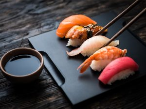 Диета на суши и роллах
