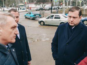 Губернатор совершил рабочую поездку по Смоленску