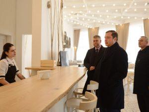 Губернатор посетил Хиславичский район