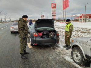 Незаконный въезд. Смоленские пограничники не пустили иностранцев на территорию РФ