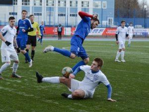 Футболисты СГАФКСТ вырвали победу в матче с лидером НСФЛ